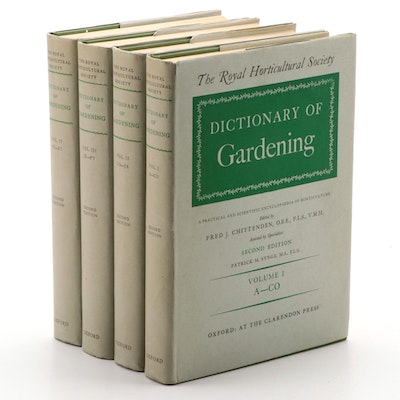 "The Royal Horticultural Society ""Dictionary of Gardening"" Second Edition, 1956"