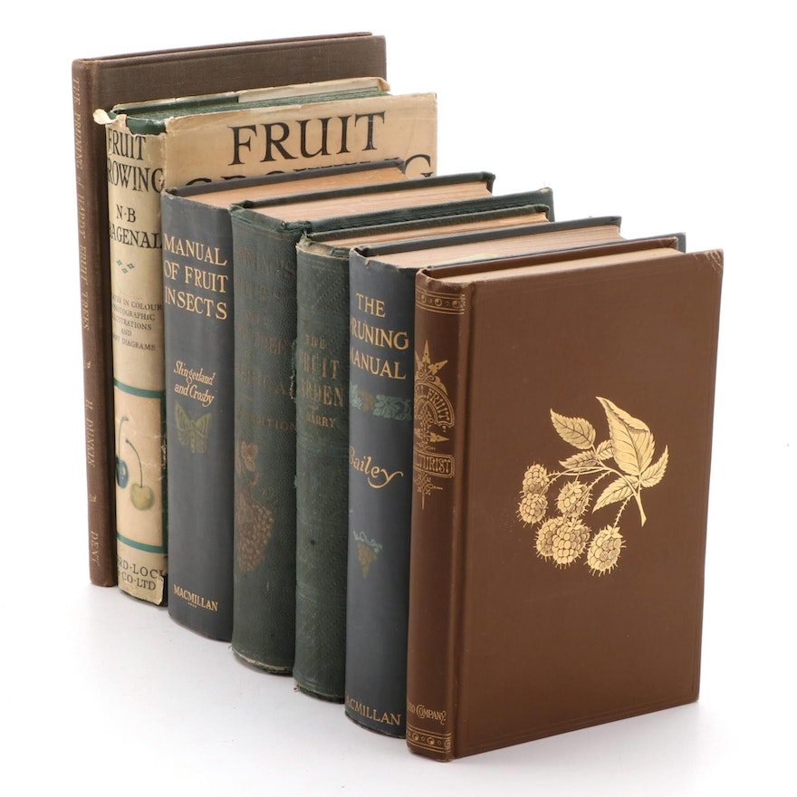 """""""The Fruit Garden: A Treatise"""" and More Books on Fruit Horticulture"""