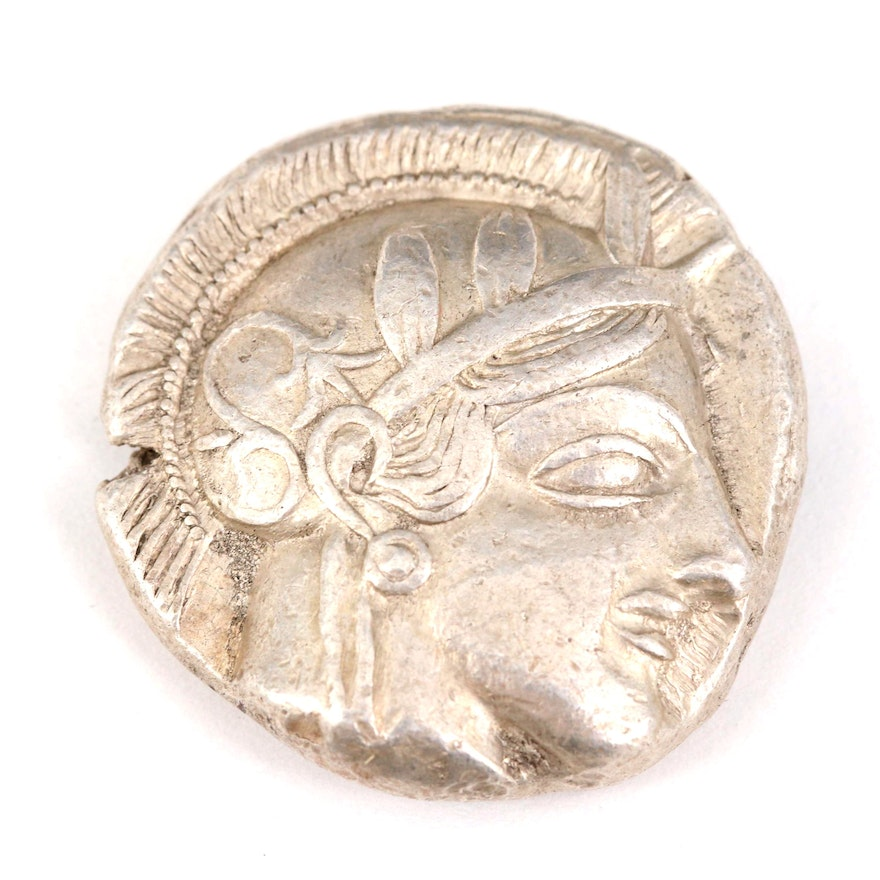 Ancient Greek, Attica, Athens AR Tetradrachm, ca. 400 B.C.