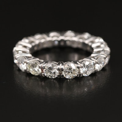 Platinum 4.30 CTW Diamond Eternity Band