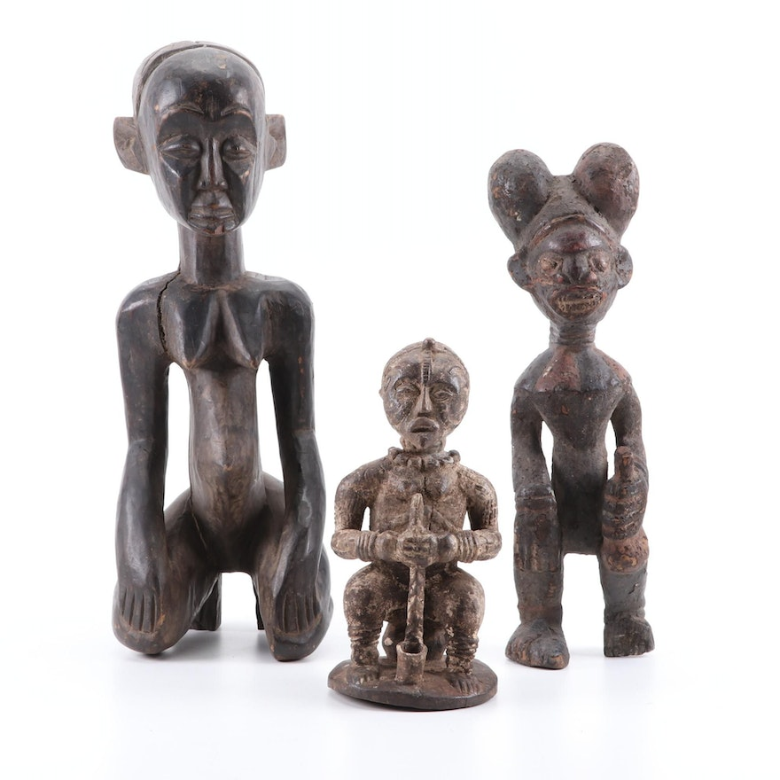 Bamileke Style and Other African Figures