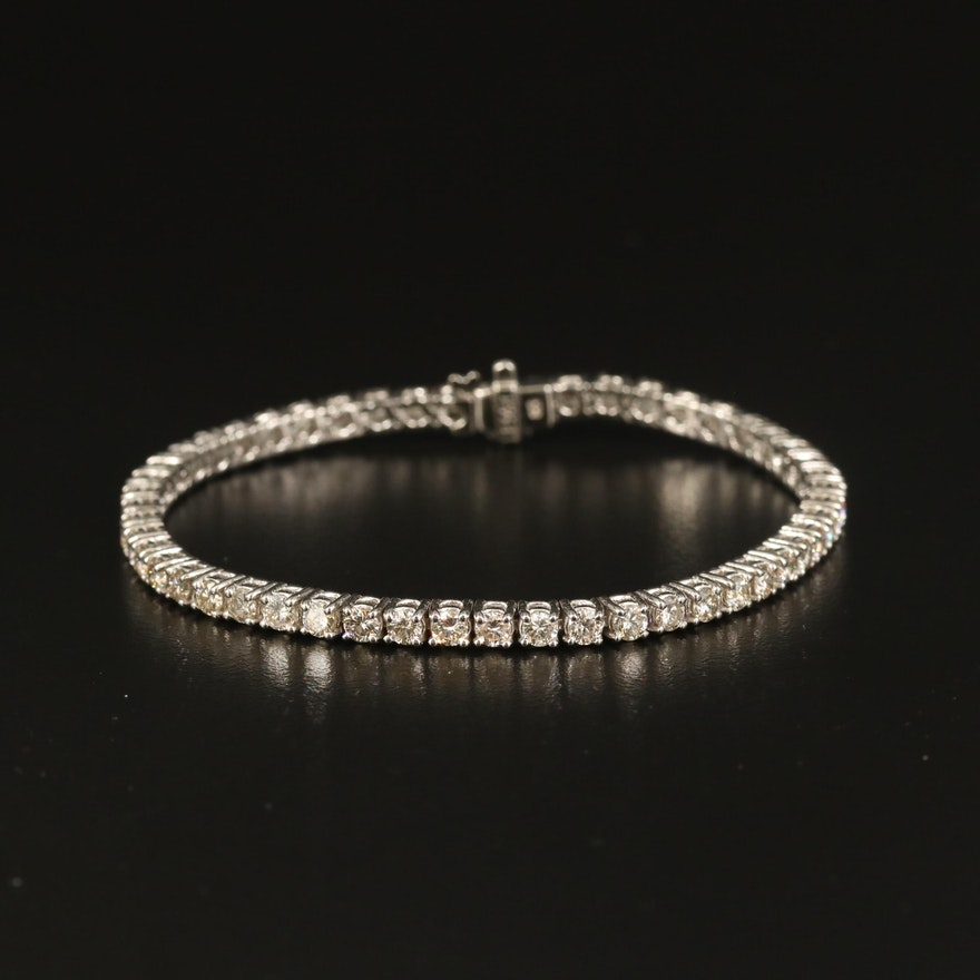 14K 5.23 CTW Diamond Line Bracelet
