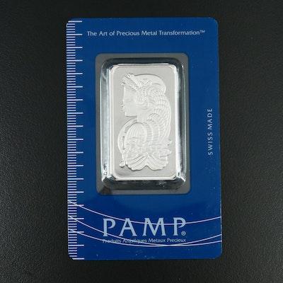 1-Ounce PAMP Suisse Platinum Ingot