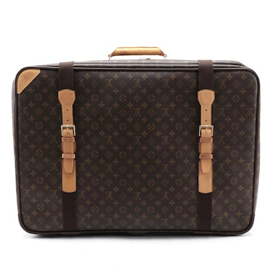 Louis Vuitton Monogram Canvas Satellite 70 Soft-Sided Suitcase