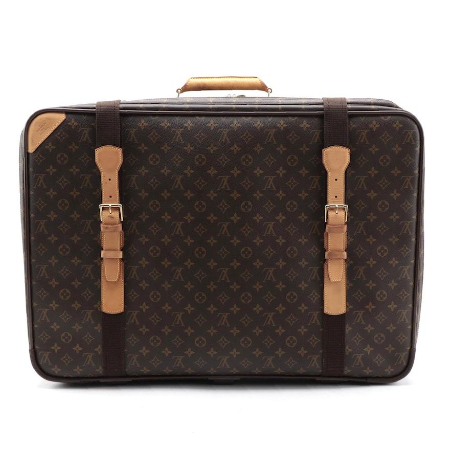 Louis Vuitton Monogram Canvas Satellite 70 Soft-Sided Suitcase