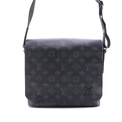 Louis Vuitton Monogram Eclipse District Messenger Bag
