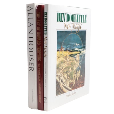 "Signed ""New Magic"" by Bev Doolittle and Other Art Books"