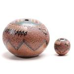Nancy Chilly Navajo Art Pottery Earthenware Vases