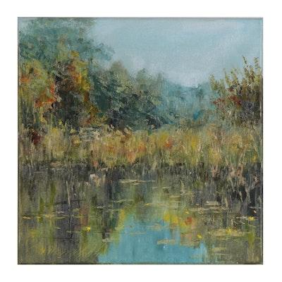 "Garncarek Aleksander Oil Painting ""Corner"""