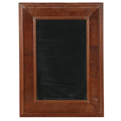 Craftsman-Style Mirror in Walnut Frame, Early to Mid 20th Century