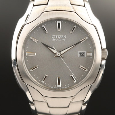 Citizen Eco-Drive Paradigm Stainless Steel Quartz Wristwatch