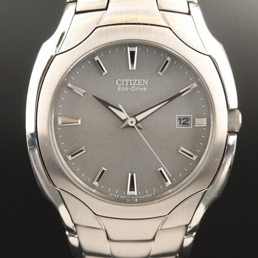 Citizen Eco-Drive Paradigm Stainless Steel Quartz Wristwatch