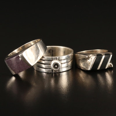 Vintage Mexican Sterling Silver Rings
