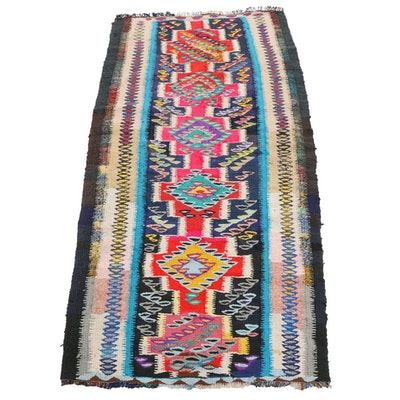 3'8 x 7'10 Handwoven Persian Kilim Area Rug