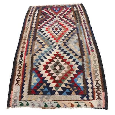 5'9 x 10'8 Handwoven Persian Kilim Area Rug
