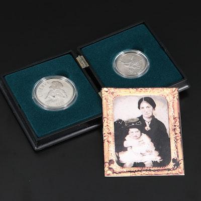 1995 Civil War Two-Coin Commemorative Set