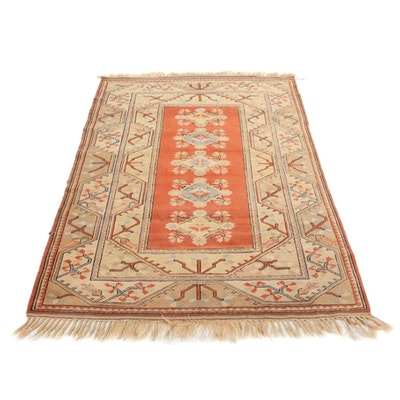 5'4 x 8'4 Hand-Knotted Turkish Area Rug