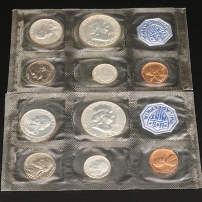 1958 and 1959 U.S. Mint Proof Sets