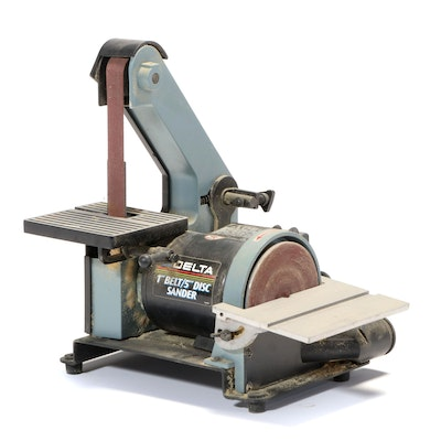 Delta 1-Inch Belt and  5-Inch Disc Bench Sander