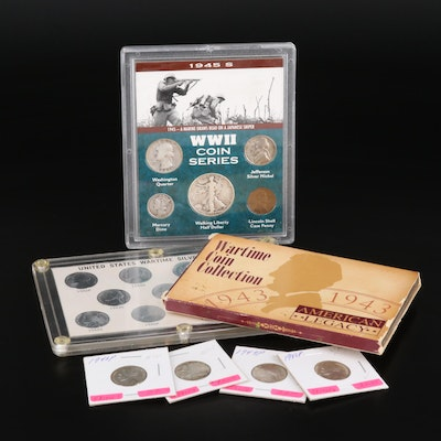 Three WWII Coin Sets