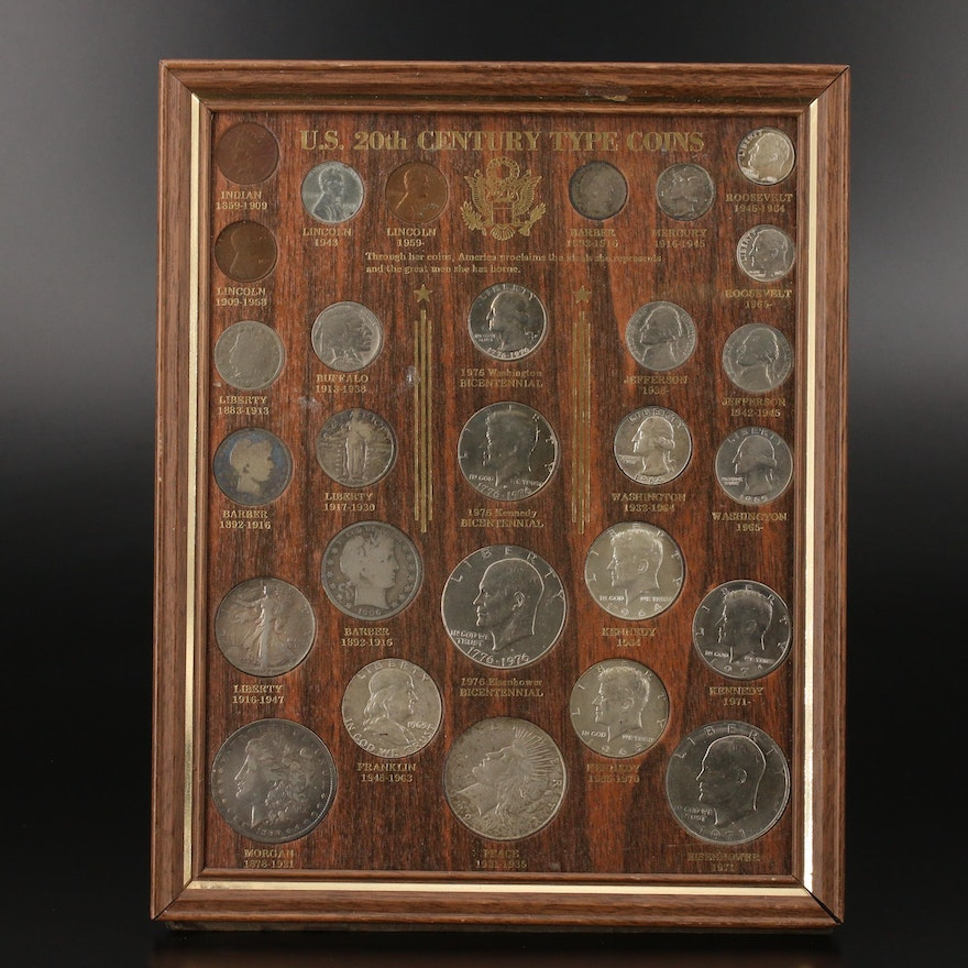 """United States """"20th Century Type Coins"""" Set"""