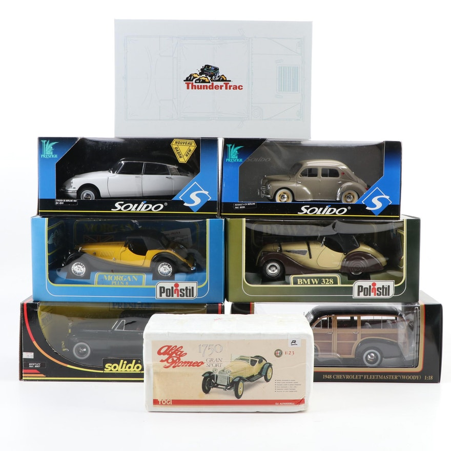 Solido, Polistil and Other Diecast Model Cars