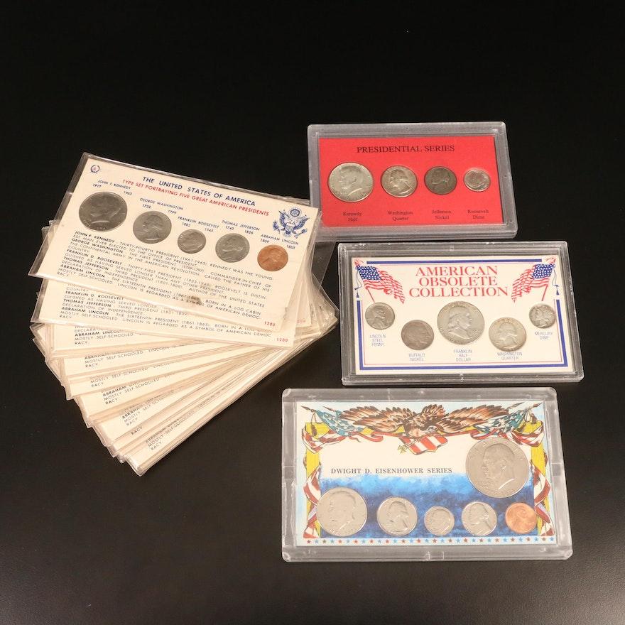 Nineteen U.S. Coin Sets