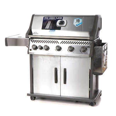 Napolean True Smoke Flavor Stainless Steel Outdoor Grill