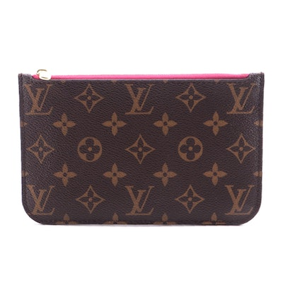 Louis Vuitton Monogram Canvas Neverfull Pochette