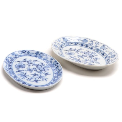 "Meissen ""Blue Onion"" Trays"