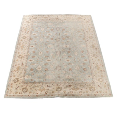 "8'11 x 11'11 Hand-Tufted Pottery Barn ""Malika"" Wool Room Sized Rug"