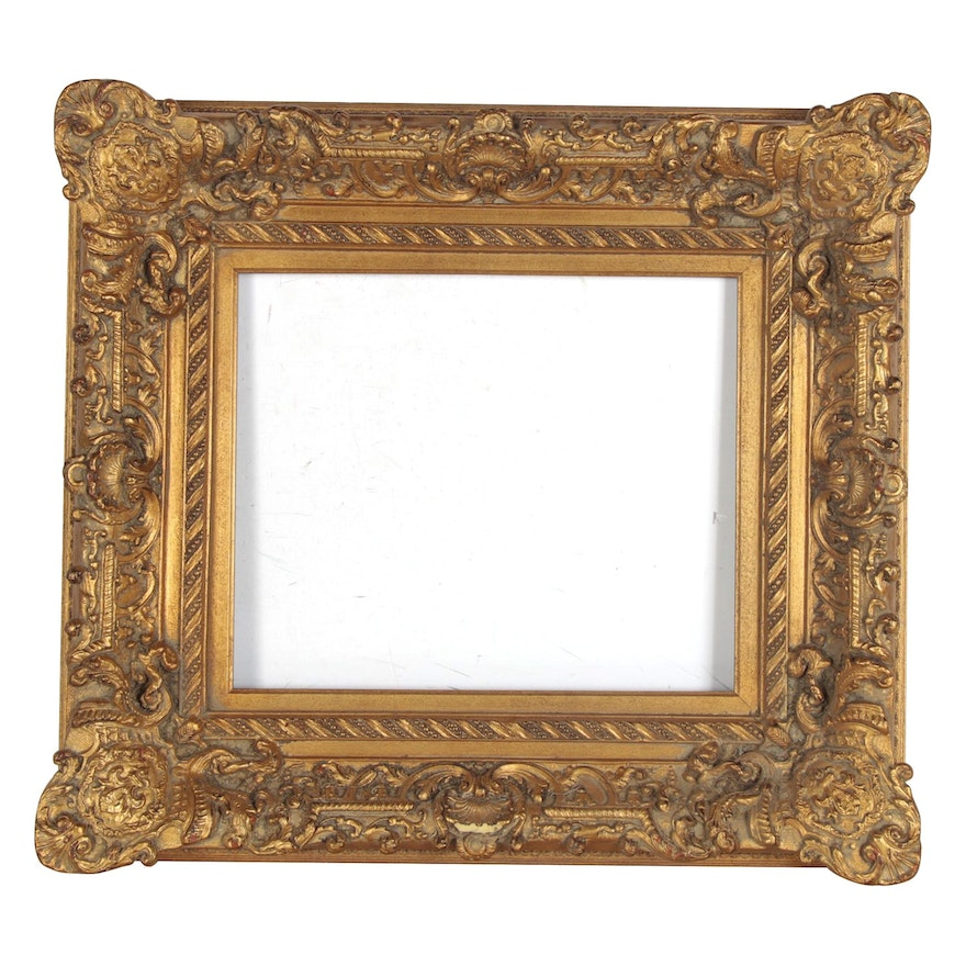 French Baroque Style Composite Wood Wall Frame