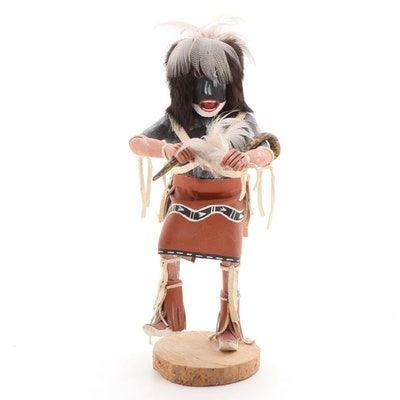 "Hopi Kachina Doll, ""Snake Dancer,"" by Largo, Late 20th Century"
