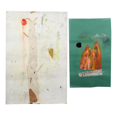 Janice Schuler Mixed Media Collages, 2018