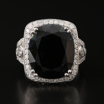 14K Corundum and 1.75 CTW Diamond Ring