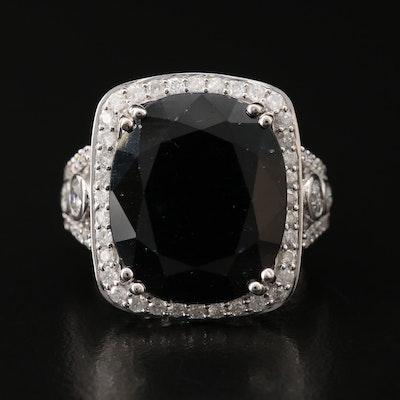 14K Corundum and 1.75 CTW Diamond Ring