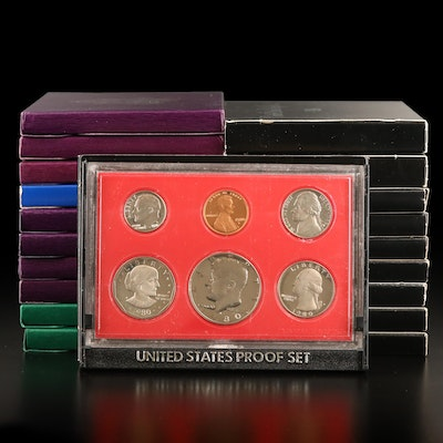 Twenty U.S. Mint Proof Sets