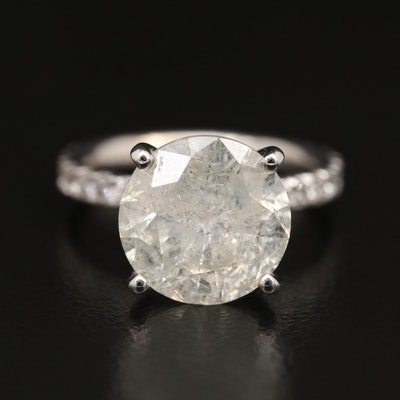 14K 4.81 CTW Diamond Ring