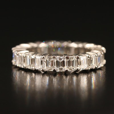 18K 4.04 CTW Diamond Eternity Band