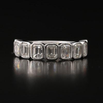 18K 2.34 CTW Bezel Set Diamond Ring