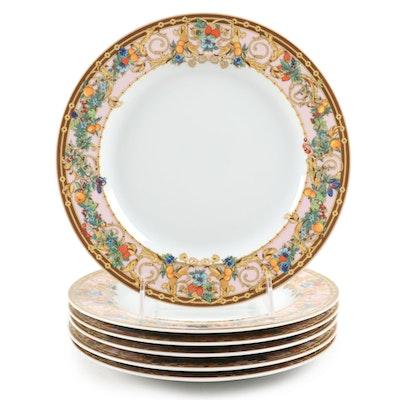 """Rosenthal for Versace """"Le Jardin de Versace"""" Porcelain Plates"""