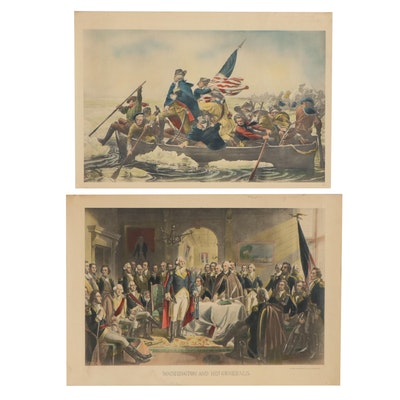 Lithographs of George Washington, 20th Century