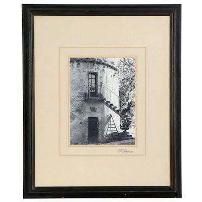 Martin Roberts Digital Print of Building Facade, Late 20th Century