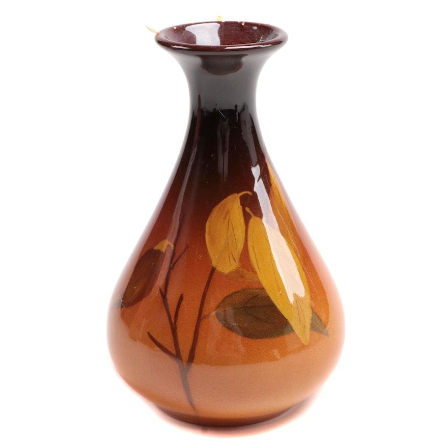 Leona Van Briggle for Rookwood Pottery Standard Glaze Bud Vase, 1900