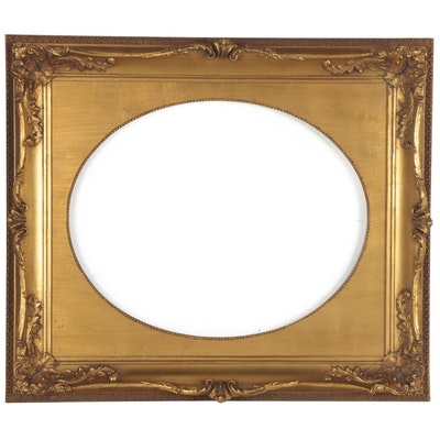 Victorian Style Giltwood Frame, Mid-20th Century