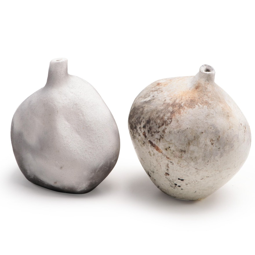 Nata Zaranka Friends Gourd-Shaped Pottery Vases