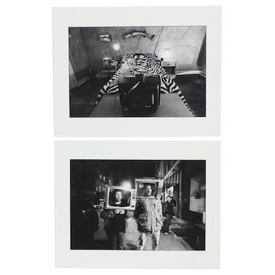William D. Wade Inkjet Photographs of Figures