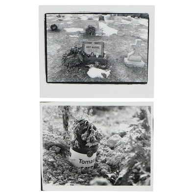 William D. Wade Silver Gelatin Photographs of Homage to Andy Warhol