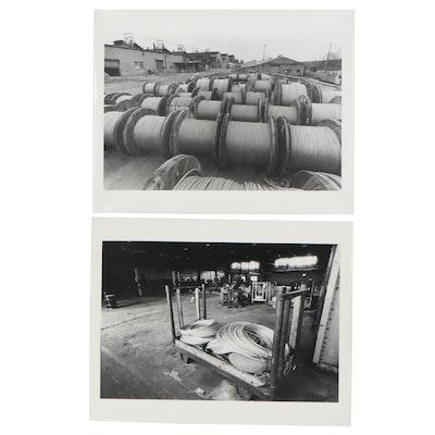 William D. Wade Industrial Silver Gelatin Photographs