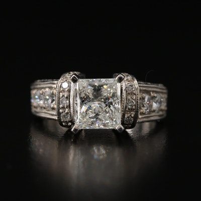 14K 2.90 CTW Diamond Ring